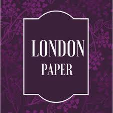 London Paper - Papel de Parede