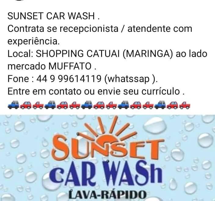 Sunset Car Wash - Lava Rapido