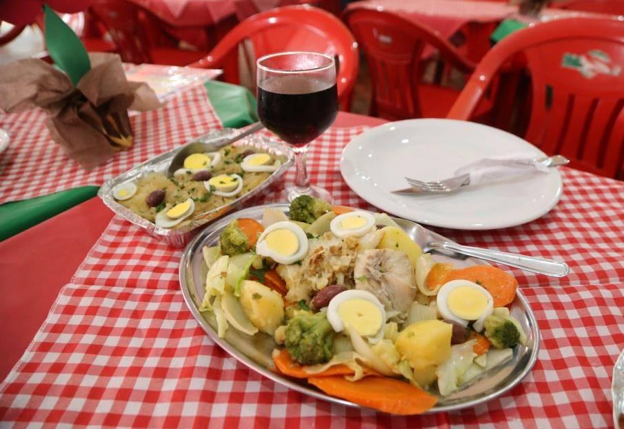 Bacalhau é uma receita de origem portuguesa