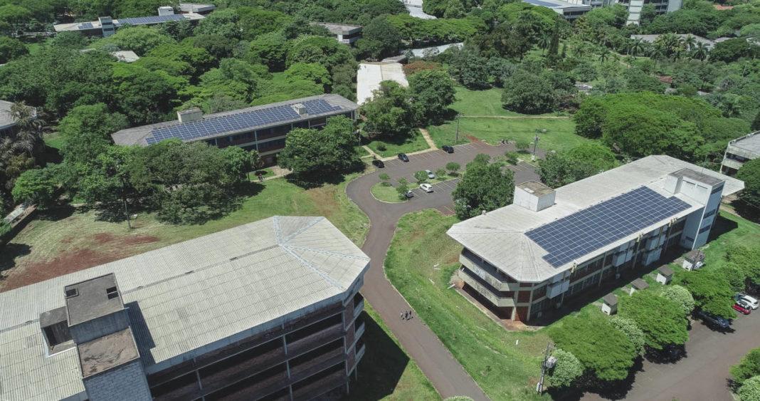 Projeto de implementação da usina solar da UEM começou em 2016