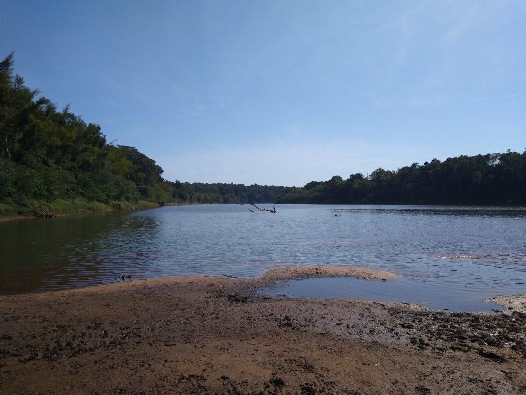Rio Ivaí está no nível mais baixo desde 1982, principalmente na região de São Jorge do Ivaí