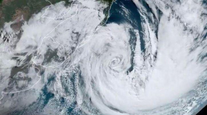 Ciclone extratropical deve causar menos estragos que o Ciclone bomba no Paraná