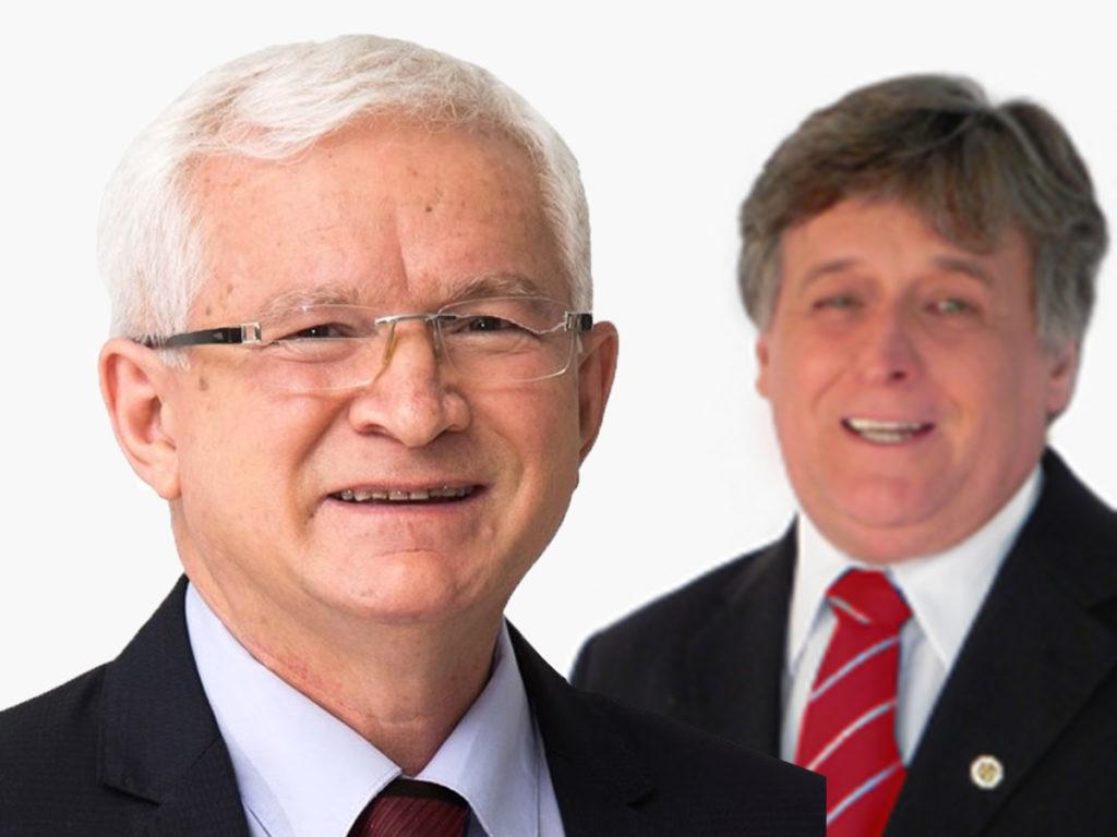 Carlos Mariucci e Professor Peluso