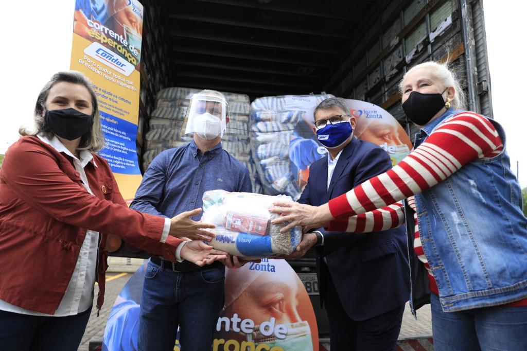 condor doa alimentos à prefeitura de Maringá