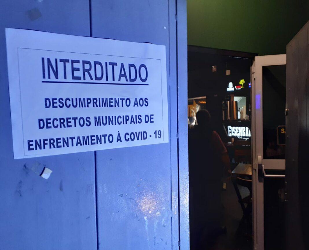 GGI interdita festa clandestina em Maringá