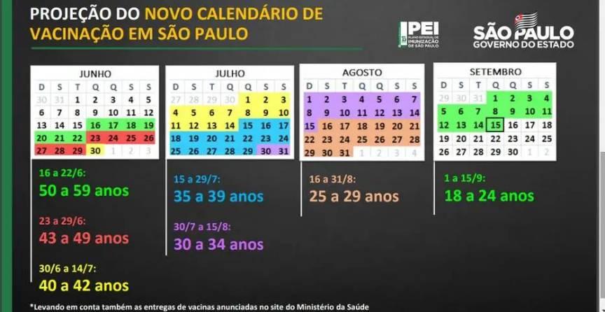 São Paulo vai vacinar toda a população