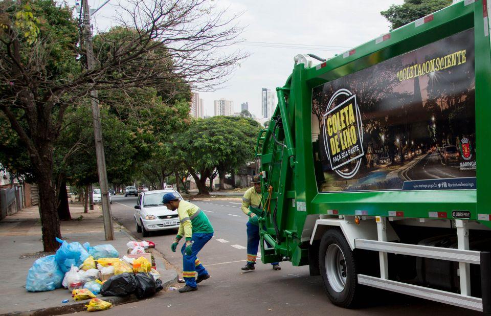 coletores de lixo começam a ser vacinados