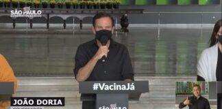 São Paulo vai vacinar toda a população adulta até setembro