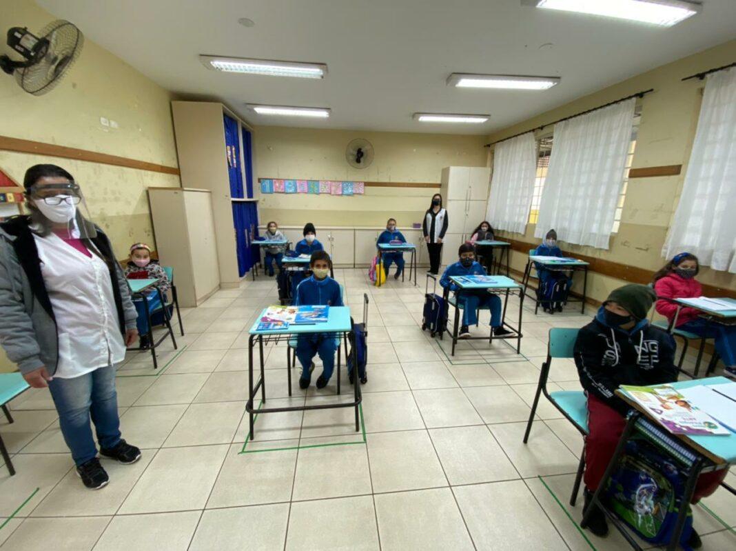 escolas reiniciam